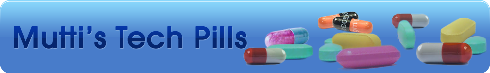 Mutti's Tech Pills